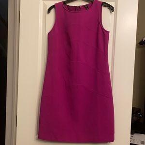 Ann Taylor pink sheath dress 4